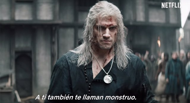 Henry Cavill en The Witcher de Netflix