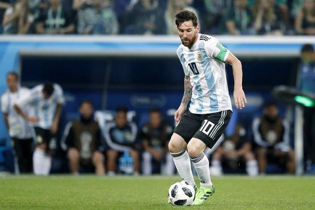 Fútbol.- Messi regresa a la selección argentina tras su sanción de tres meses