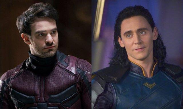 Daredevil y Loki, dos personajes de los cómics de Marvel