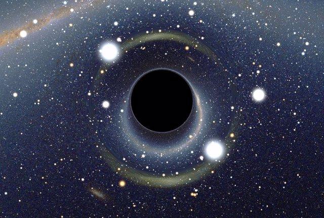 Evidencia de una clase nueva de agujeros negros más pequeños
