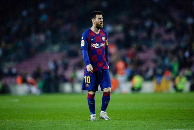 Fútbol.- Suspenden un juicio por los derechos de imagen de Messi previsto para e