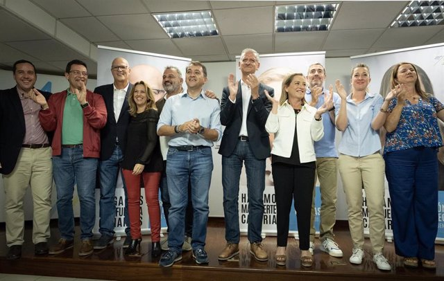 CC arranca la campaña para el 10N en Tenerife, con Ana Oramas, Bermúdez o Clavijo, entre otros
