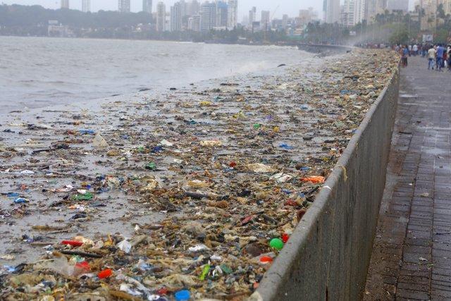 Contaminació d'algunes parts de l'Índia.