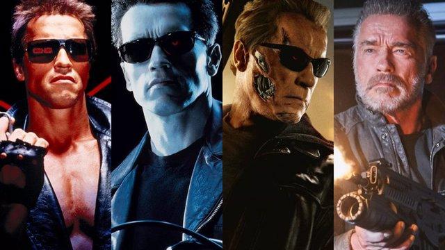 Terminator, un mismo rostro y distintos modelos