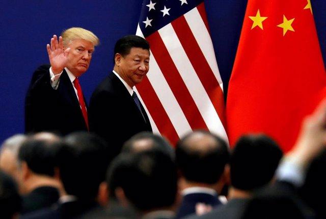 Los presidentes de Estados Unidos, Donald Trump, y China, Xi Jinping (Imagen de archivo)