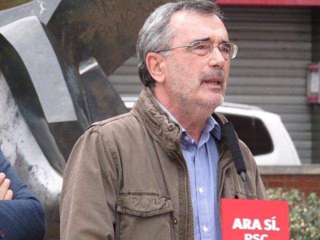 El president del Senat i candidat del PSC al Senat per Barcelona, Manuel Cruz