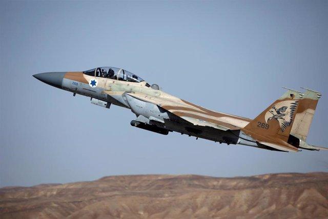 Avión de combate Ejército israelí