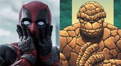 En Deadpool 2 había una pelea con La Cosa de Los 4 Fantásticos