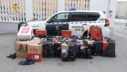 Desarticulan una organización de contrabando de tabaco en San Roque (Cádiz)