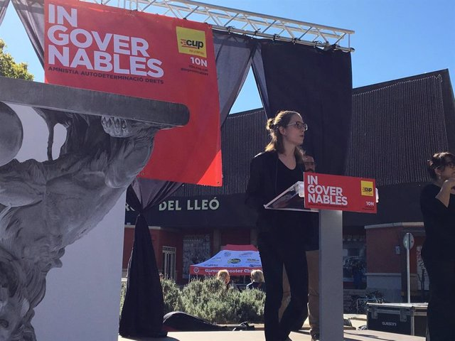 La candidata de la CUP al Congrés per Girona Maria Besora