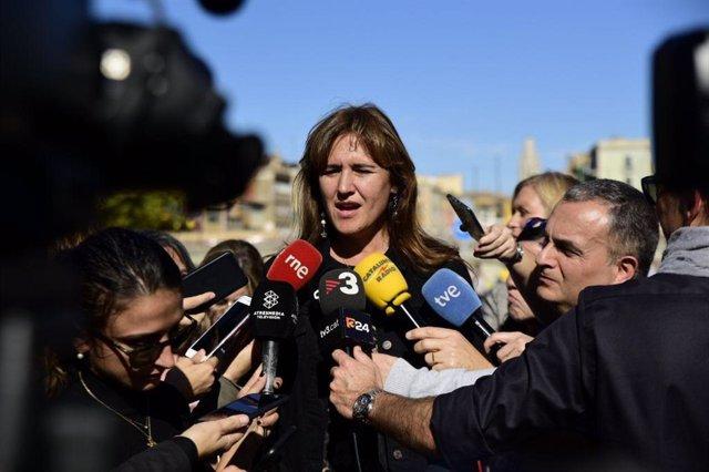 El cap de llista de JxCat al Congrés per Barcelona, Laura Borràs.