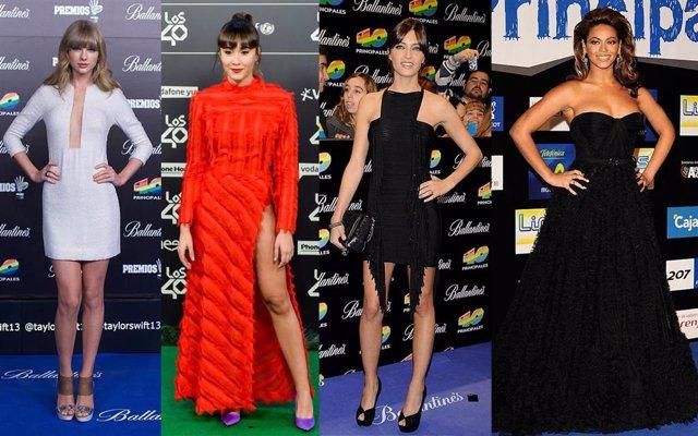 Repasamos los mejores looks de Los40 Music Awards