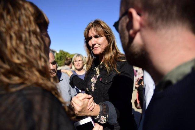 La candidata de JxCat al Congrés, Laura Borràs.