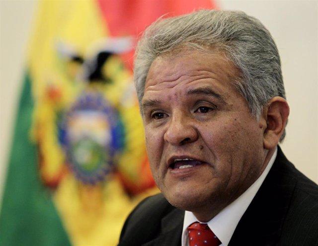 El dirigente opositor boliviano Rolando Villena