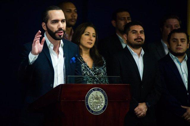 El Salvador/Venezuela.- El Salvador expulsa al cuerpo diplomático venezolano del