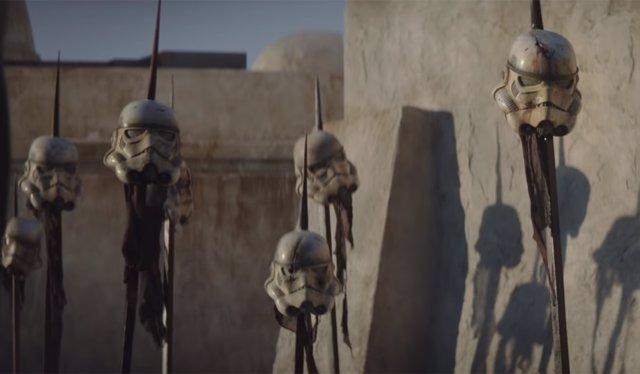 Imagen de la serie de Star Wars The Mandalorian