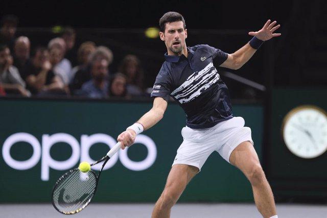 Tenis/París.- Djokovic triunfa en París-Bercy antes de dejar el número uno mundi