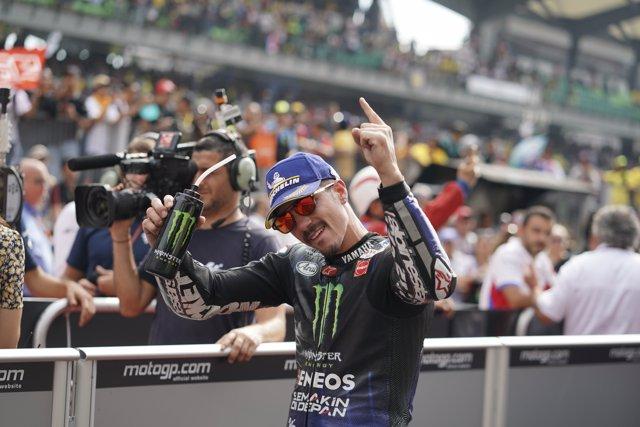 VINALES Maverick (Spa) Movistar Yamaha MotoGp, Yamaha, ambiance, portrait during MotoGP Shell Malaysia Motorcycle Grand Prix 2019 from November 1 to 3, 2019 at Sepang International Circuit in Sepang, Malaysia - Photo Studio Milagro / DPPI