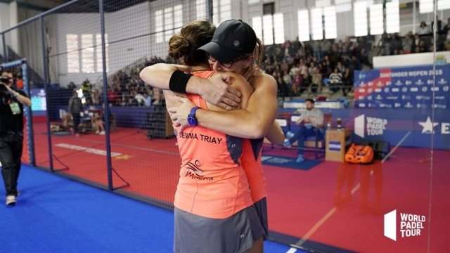 Gemma Triay i Lucía Sainz conquereixen el Santander WOpen 2019.