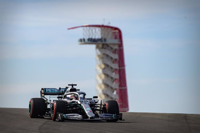 AV.- Fórmula 1/GP Estados Unidos.- Hamilton conquista el 'sextete' con el segund