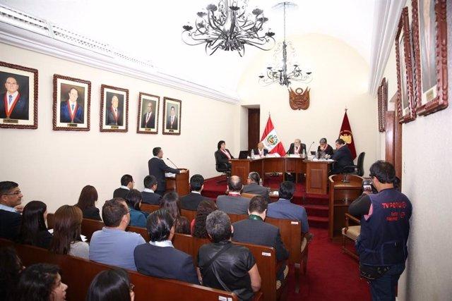 El Tribunal Constitucional (TC) de Perú.