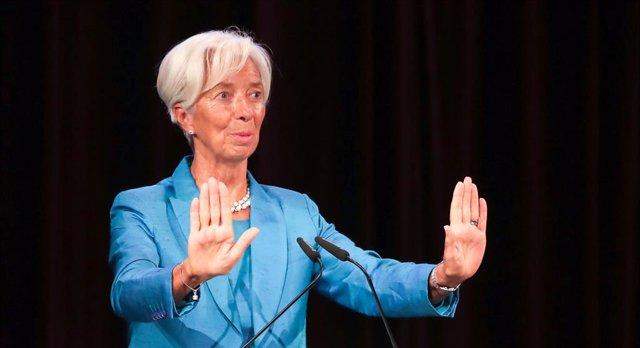 BCE.- Lagarde se estrena como presidenta del BCE en un acto de homenaje a Wolfga