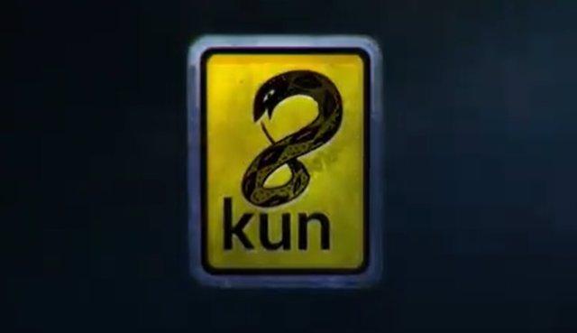 Nuevo logo del foro 8chan, ahora 8kun