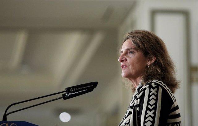 """AMP.-Ribera reconoce el """"desafío"""" de celebrar la Cumbre del Clima en Madrid y re"""