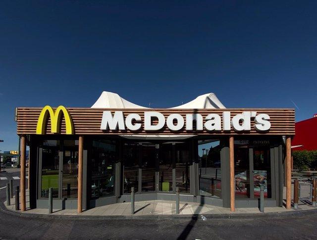 Foto del restaurant de menjar ràpid McDonald's.