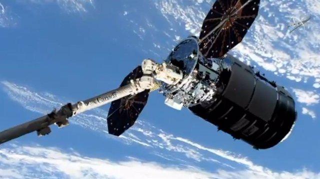 Un carguero Cygnus llega a la Estación Espacial Internacional