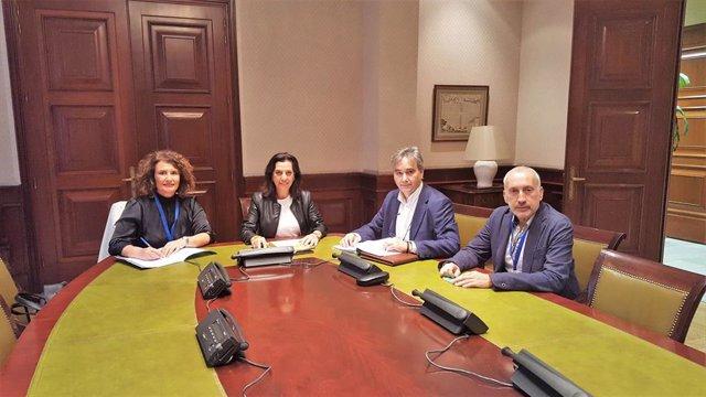 Reunión del Sindicato de Enfermería con Ciudadanos.