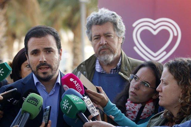 """Garzón espera que las movilizaciones contra el rey """"sean pacíficas"""" y permitan """""""