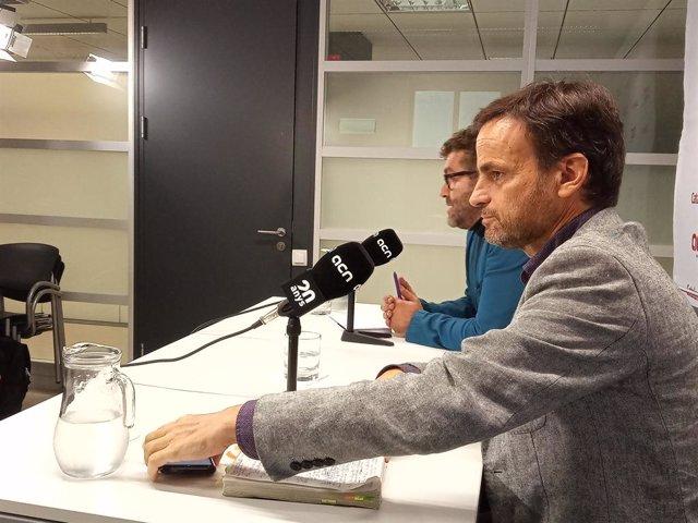 El candidat dels comuns al Congrés per Barcelona, Jaume Asens.