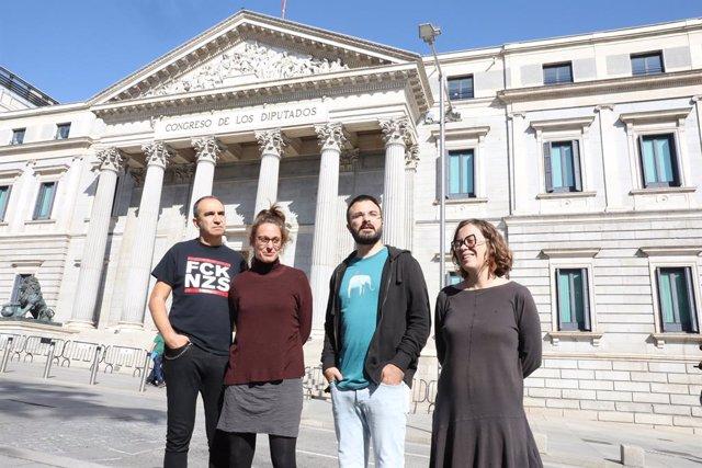 Francisco Gabarrell, Eulàlia Reguant,  Mireia Vehí,  Albert Botran i Eulàlia Reguant