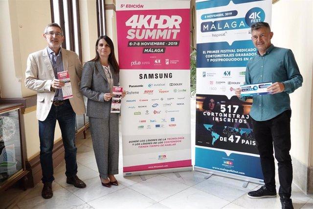 Presentación de 4KSummit Málaga