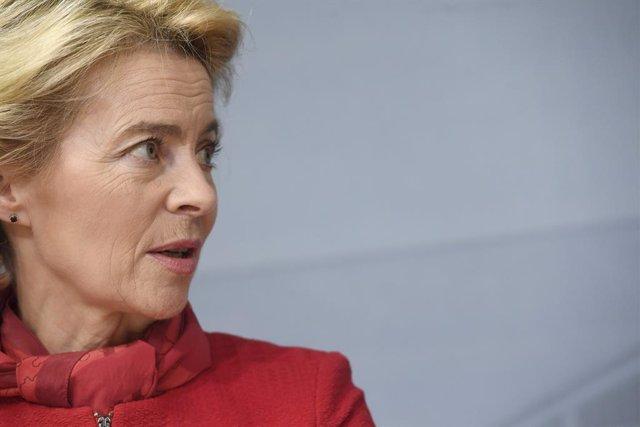 UE.-Von der Leyen mantiene la toma de posesión para el 1 de diciembre pese a la
