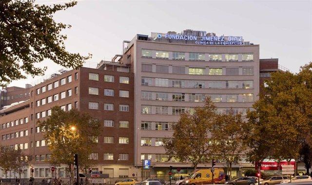 Imagen de archivo de la Hospital Fundación Jiménez Díaz.