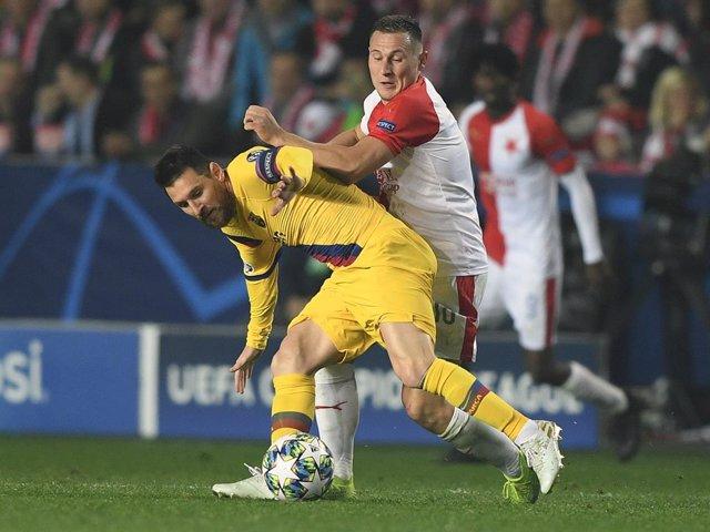 Fútbol/Champions.- Previa del Barcelona - Slavia Praga
