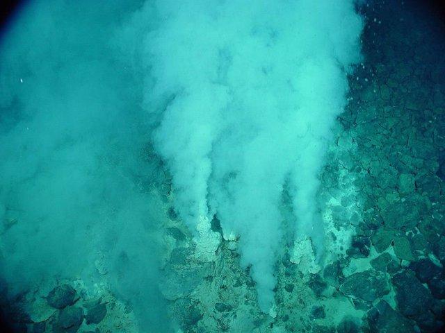 Los respiraderos de aguas profundas, ideales para el origen de la vida