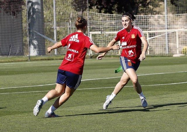 Fútbol.- La selección femenina de fútbol se concentra este martes para preparar