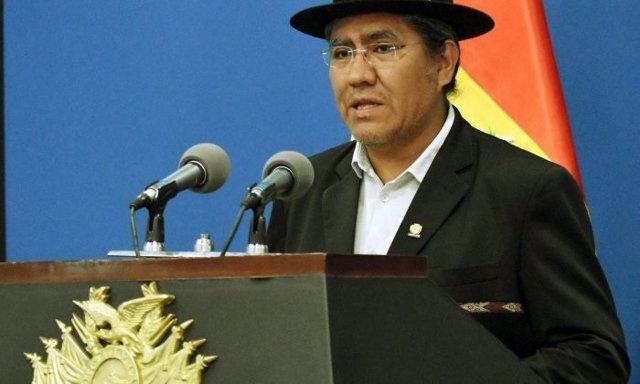 El ministro de Asuntos Exteriores de Bolivia, Diego Pary