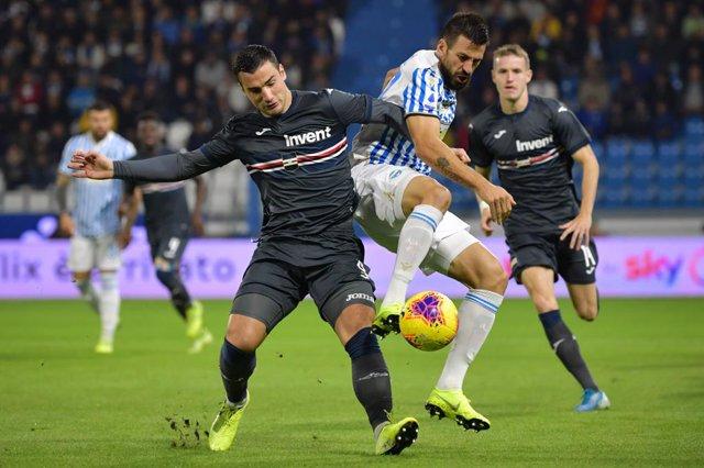 Fútbol/Calcio.- (Crónica) Ranieri logra en el descuento su primer triunfo con la
