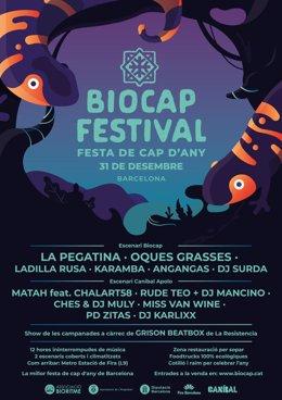 Cartell del Biocap Festival.