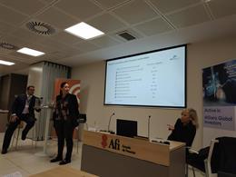 Presentación del estudio de Afi y Allianz GI en Madrid
