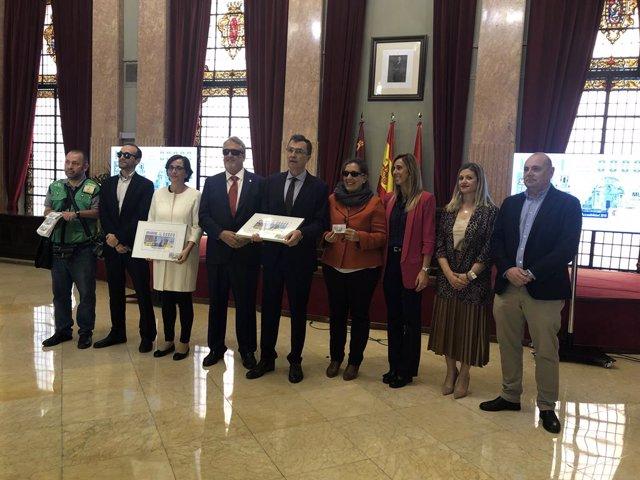 Murcia presenta su cupón Premio Reina Letizia de Accesibilidad 2018, ilustrado c