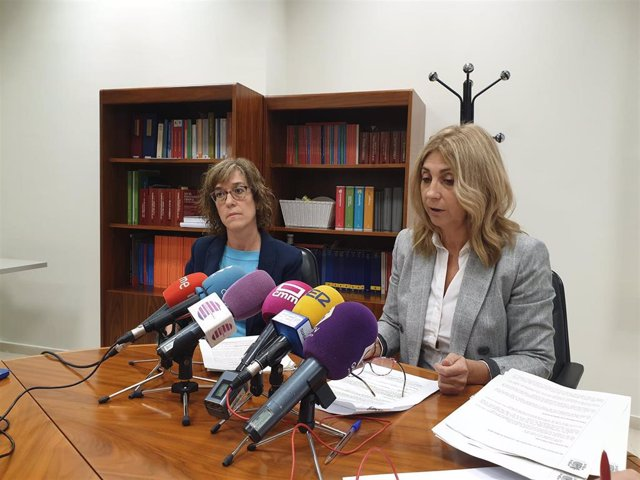 La fiscal Jefe de Guadalajara, Rocío Rojo, en rueda de prensa.