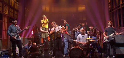 VÍDEO: Coldplay presentan en vivo nuevas canciones en Saturday Night Live