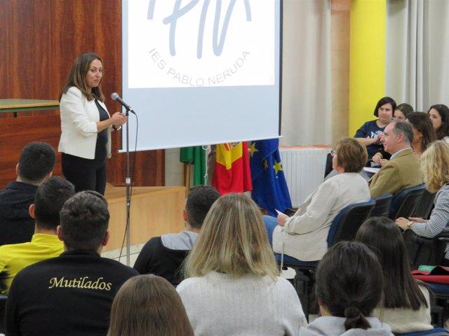 Huelva.- Los alumnos ganadores del concurso 'Móntate tu película' proyectarán su