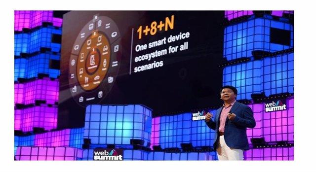 Huawei presenta su Programa de Incentivos para Desarrolladores en la Web Summit