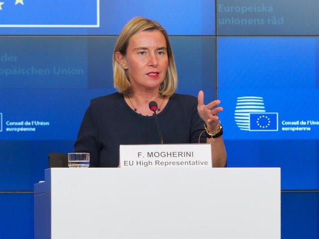 Irán.- La UE admite preocupación por la regresión de Irán con el acuerdo nuclear